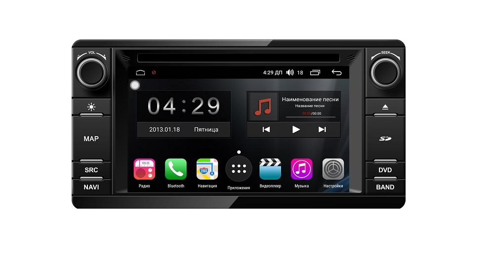 Штатная магнитола FarCar s300 для Mitsubishi Outlander 2012+ ASX 2013+ Lancer X Pajero Sport 2014+ L200 2015+ 4 на Android (RL230) (+ Камера заднего вида в подарок!)