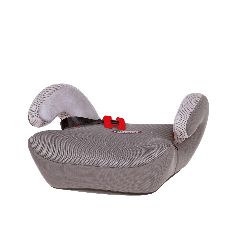 Фото - Автокресло-бустер HEYNER SafeUp Aero L Серый (+ Защитный чехол СМЕШАРИКИ в подарок!) автокресло бустер heyner safeup fix xl красный солнцезащитные шторки в подарок