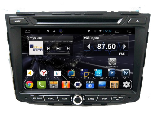 Штатная магнитола DayStar DS-8004HD Hyundai Creta 2016+ ANDROID 8.1.0 (8 ядер, 2Gb ОЗУ, 32Gb памяти) pipo w4s dual boot 8 inch 2gb 32gb windows8 1