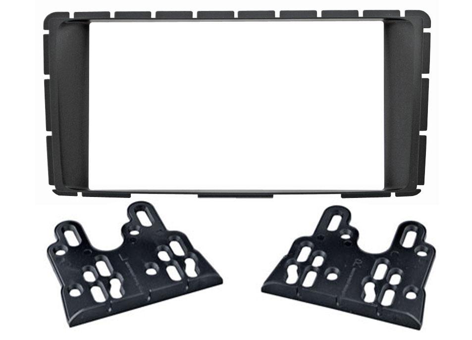 Переходная рамка Intro RTY-N46 для Toyota Hilux 2012+ 2DIN (крепеж)