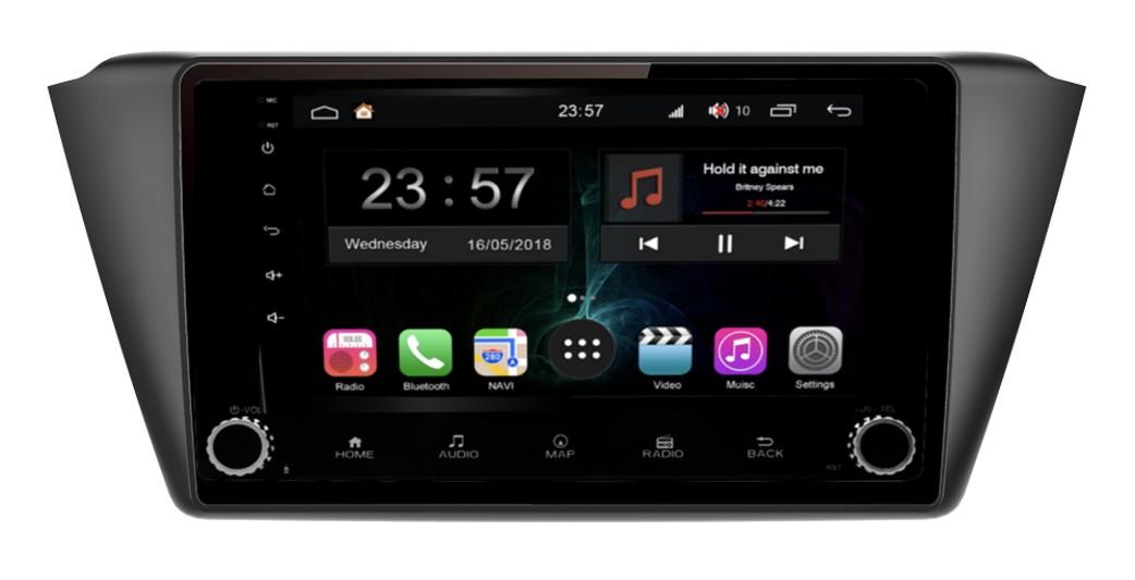Штатная магнитола FarCar s300-SIM 4G для Skoda Fabia на Android (RG2002RB) (+ Камера заднего вида в подарок!)