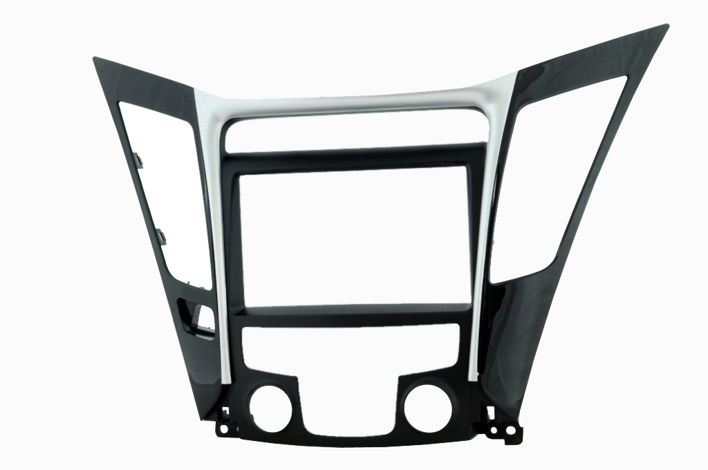 Переходная рамка Intro RHY-N34 для Hyundai YF Sonata 10+ 2DIN (крепеж) high quality car styling case for hyundai sonata 2011 12 headlights led headlight drl lens double beam hid xenon car accessories