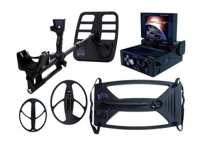 Глубинный металлоискатель и георадар Makro Deephunter 3D Pro Package