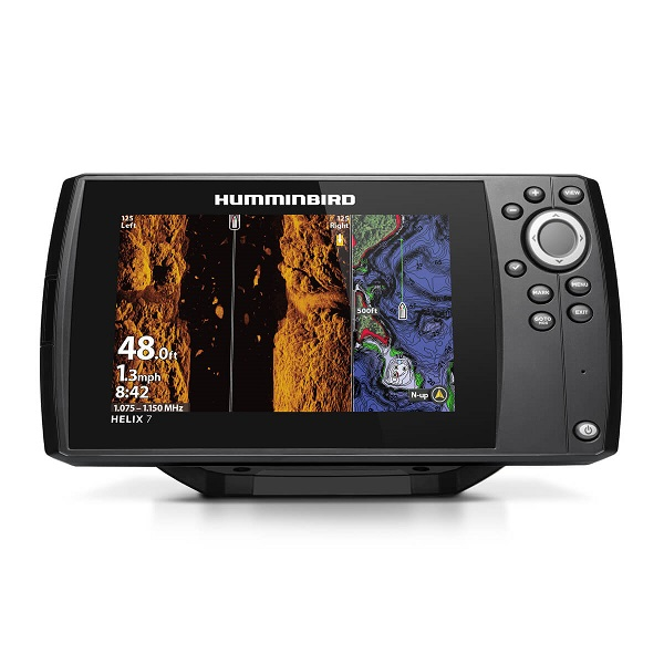 Эхолот HUMMINBIRD HELIX 7X MEGA SI GPS G3N (+ Леска в подарок!)