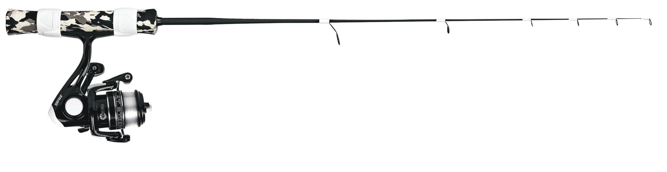 Зимняя удочка RAPALA Flatstick Medium Heavy c безынерционной катушкой и намотанной леской Sufix Ice 71см (+ Леска в подарок!) цена 2017