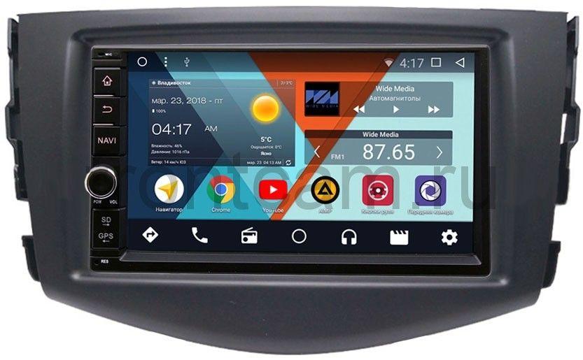 Штатная магнитола Wide Media WM-VS7A706NB-RP-TYRV3Xb-13 для Toyota RAV4 (XA30) 2006-2013 Android 7.1.2