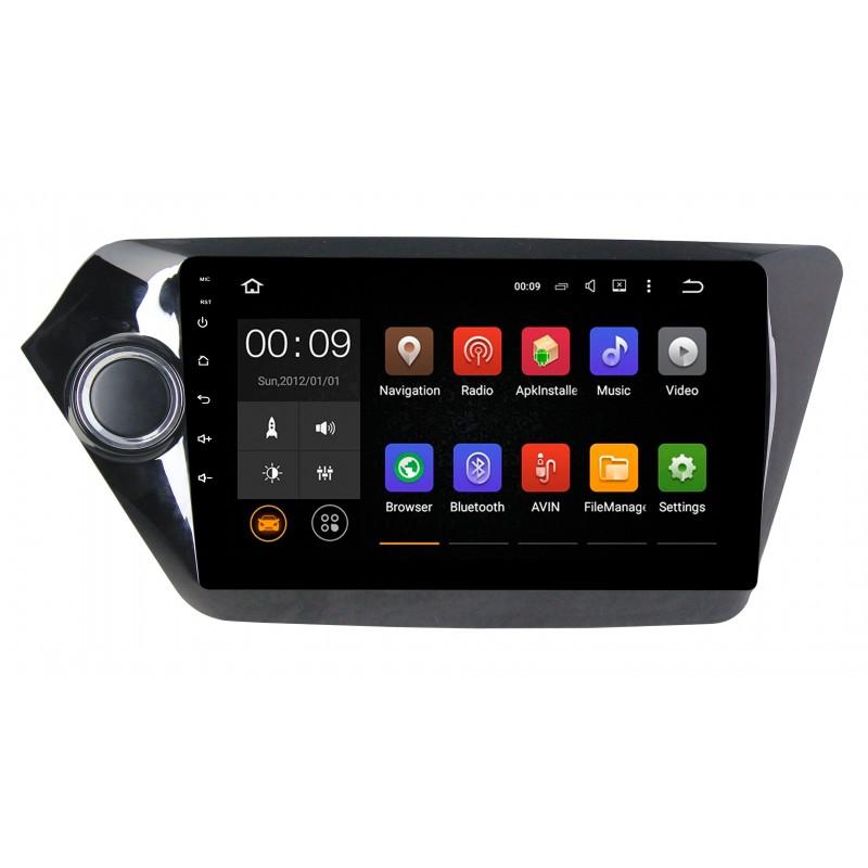 Штатная магнитола Roximo 4G RX-2314 для KIA RIO (Android 6.0) (+ Камера заднего вида в подарок!) штатная магнитола roximo 4g rx 3707 для volkswagen polo android 6 0 камера заднего вида в подарок