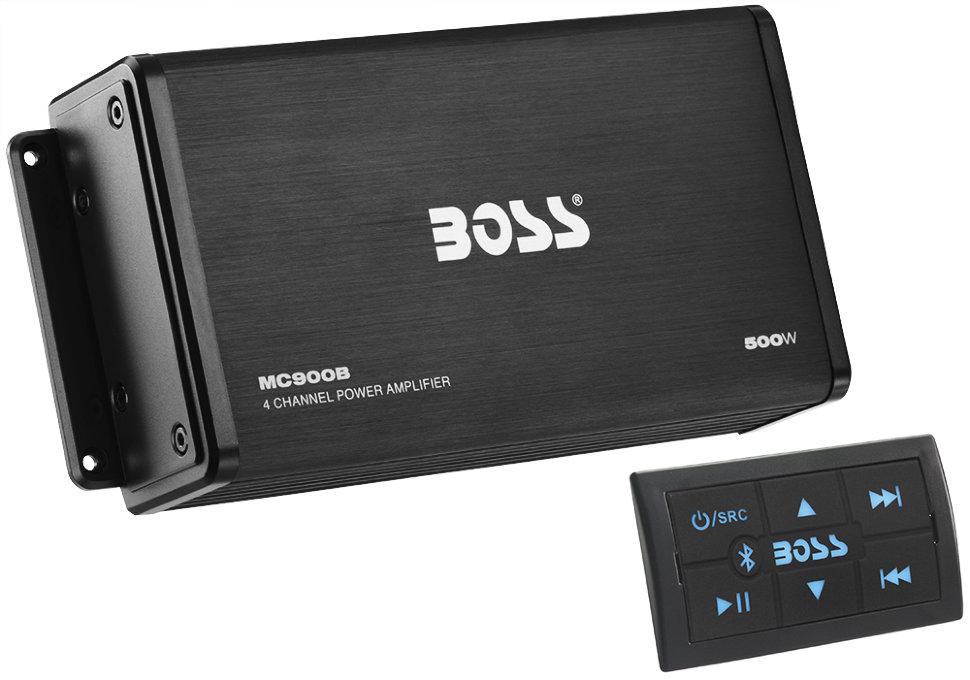 Фото - Усилитель Boss Audio MC900B (500W, 4 канала, Bluetooth) футболка hugo hugo boss hugo hugo boss hu286emfdms0