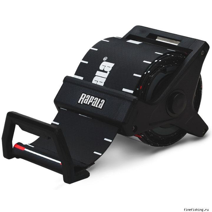 Рулетка пластиковая Rapala RCD (150 см)Инструмент<br>RCD рулетка измерительная. Подпружиненная выдвижная измерительная лента. Проста в использовании. Крупные цифры.
