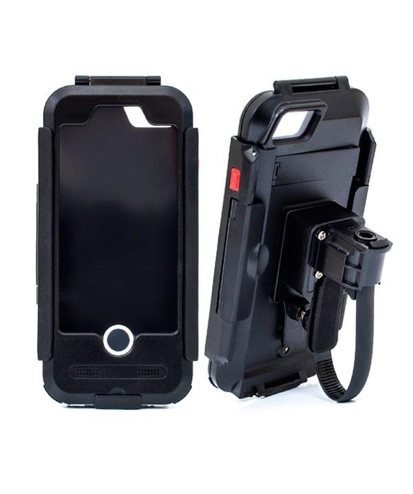 Водонепроницаемый чехол/ держатель для iPhone 7/8 на велосипед и мотоцикл DRC7IPHONE (черный) цена