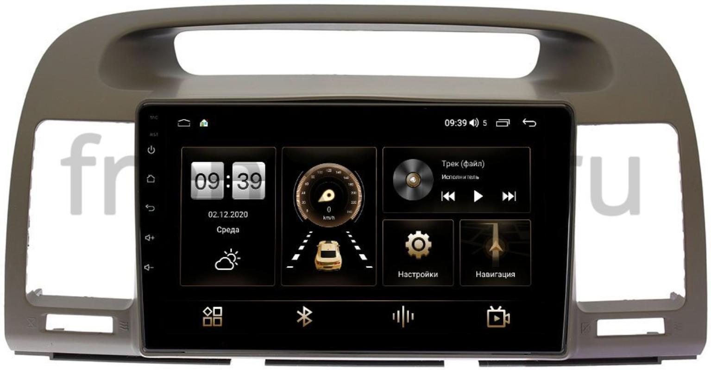 Штатная магнитола Toyota Camry V30 2001-2006 LeTrun 4196-9105 на Android 10 (6/128, DSP, QLed) С оптическим выходом (+ Камера заднего вида в подарок!)