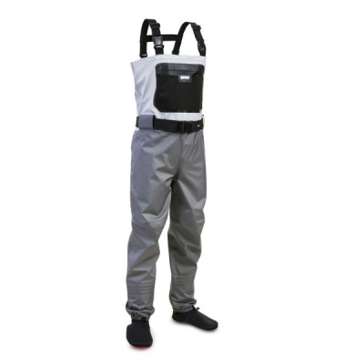 купить Вейдерсы Rapala X-Protect Chest Digi цвет серо-стальной размер L (+ Поливные капельницы в подарок!) по цене 12500 рублей