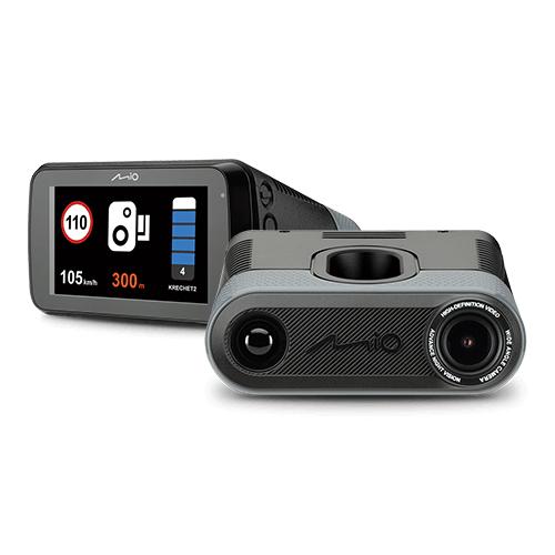 Видеорегистратор с радар-детектором Mio MiVue i90 (+ Антисептик-спрей для рук в подарок!)