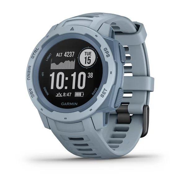 Прочные GPS-часы Garmin Instinct Sea Foam цены gps навигаторы garmin