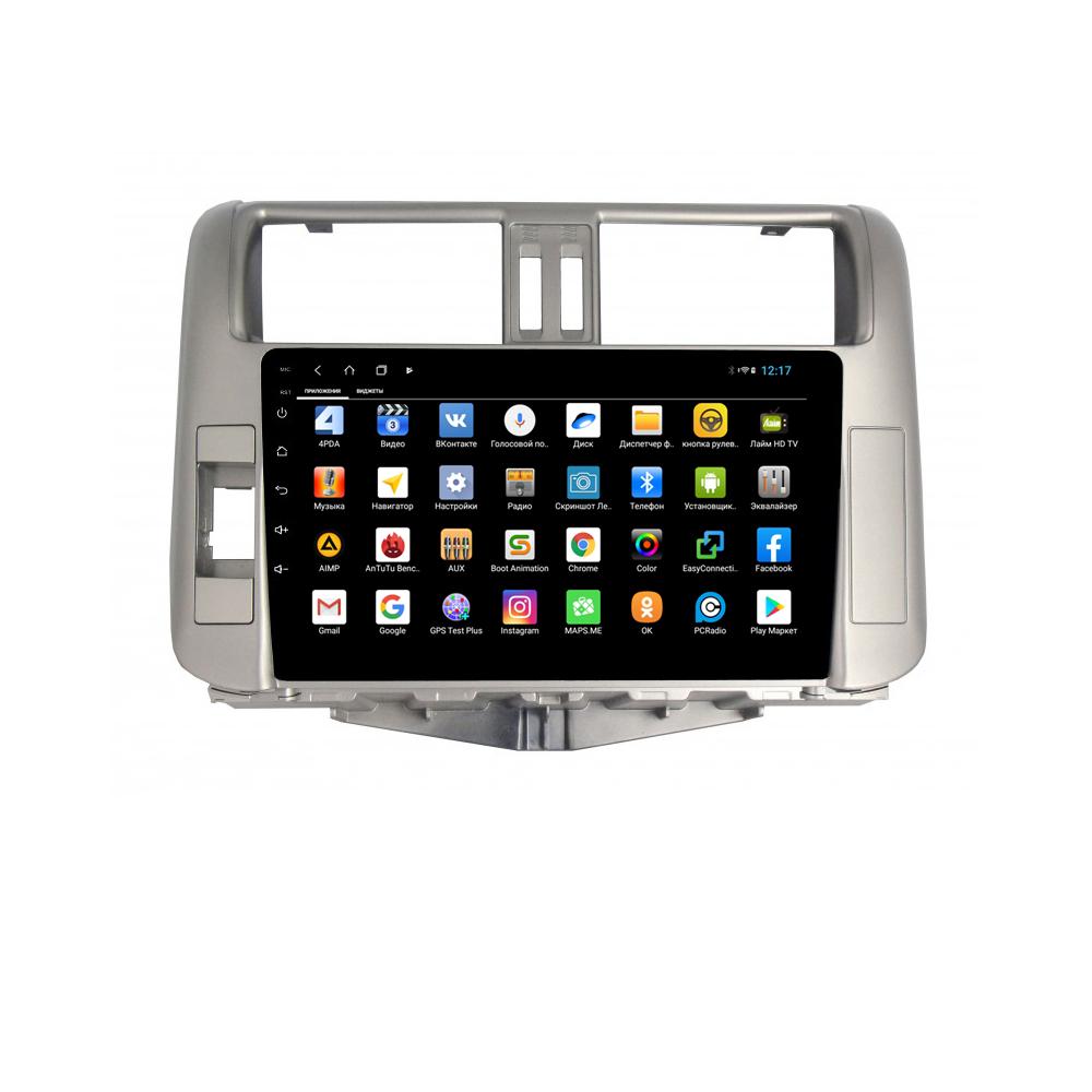 Фото - Штатная магнитола Parafar для Toyota Land Cruiser Prado 150 Android 8.1.0 (PF065XHD) (+ Камера заднего вида в подарок!) штатная магнитола parafar для toyota lc100 1998 2003 android 8 1 0 pf450xhd камера заднего вида в подарок