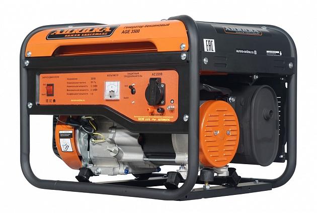 Бензиновый генератор Aurora AGE 3500 генератор бензиновый kipor kge 12 e