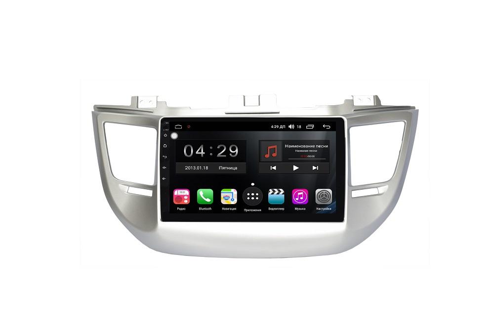 Штатная магнитола FarCar s200+ для Hyundai Tucson на Android (A546R) штатная магнитола farcar s200 для hyundai tucson на android v546r dsp