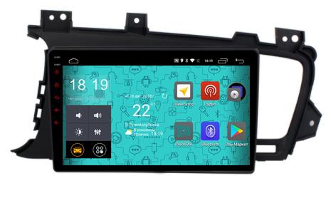 Штатная магнитола Parafar 4G/LTE с IPS матрицей для Kia Optima 3 2010-2013 на Android 7.1.1 (PF480) штатная магнитола carmedia ol 9745 8 c500 kia optima k5 2010 2013 дорестайл