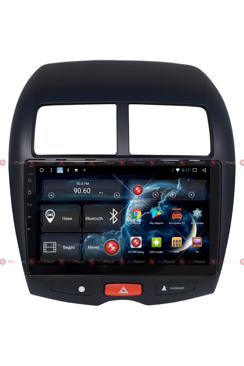 Штатная магнитола Redpower 31026 R IPS DSP для Mitsubishi ASX, Peugeot 4008, Citroen C4 Aircross (Android 7) (+ Камера заднего вида в подарок!) зеркало видеорегистратор redpower md43 new для автомобилей peugeot citroen без датчика дождя крепление 4