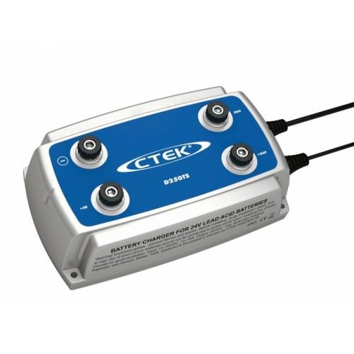 Зарядное устройство Ctek D250TS (4 этапа, 28-200Aч, 24В)