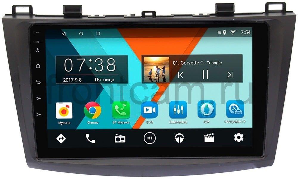 Штатная магнитола Mazda 3 (BL) 2009-2013 Wide Media MT9050MF на Android 6.0.1Wide Media<br>MT – самая доступная линейка этого бренда, но мы постарались учесть пожелания наших клиентов и сделали, пожалуй, лучший продукт среди бюджетных моделей других брендов.