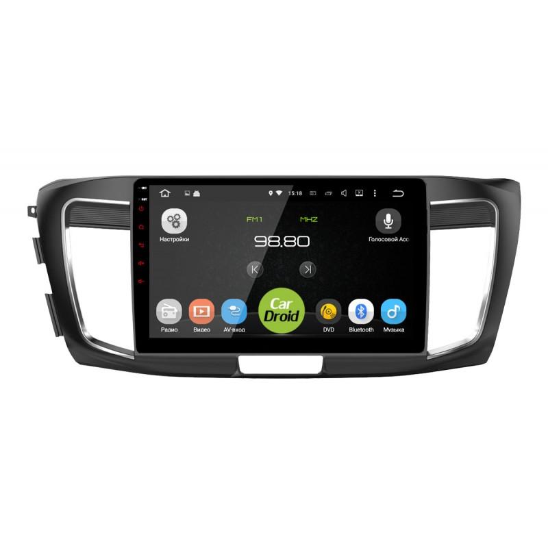 Штатная магнитола Roximo CarDroid RD-1906F для Honda Accord 9 (IX) 2013-2015 (Android 8.0)