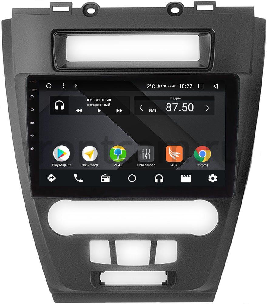Штатная магнитола Ford Fusion 2006-2012 Wide Media CF10-296-PM-4/64 на Android 9.1 (TS9, DSP, 4G SIM, 4/64GB) (+ Камера заднего вида в подарок!)