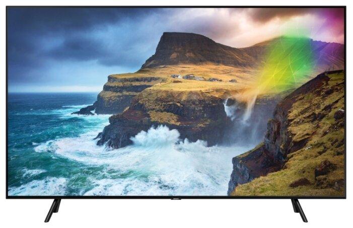 Телевизор Samsung QE55Q70R, QLED, черный цена в Москве и Питере