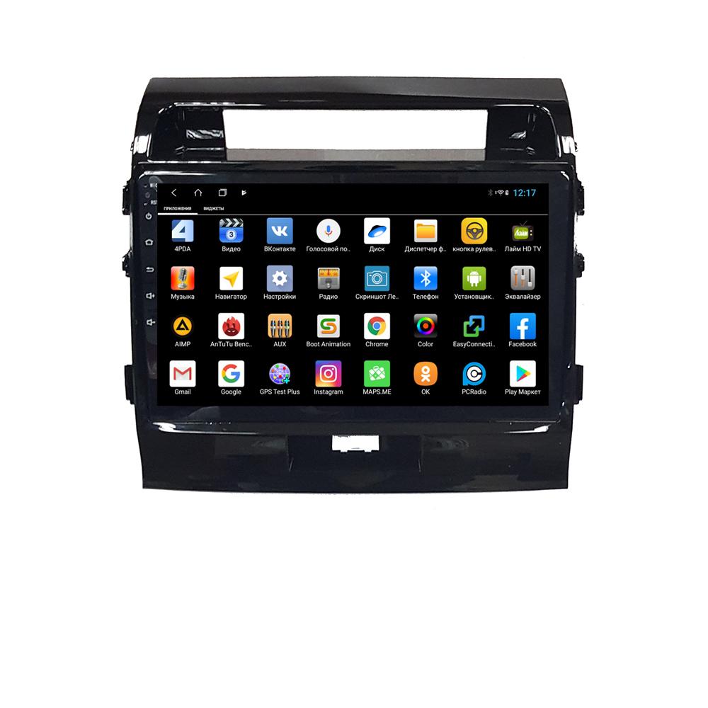 Штатная магнитола Parafar для Toyota Land Cruiser 200 2007-2015 Android 8.1.0 (PF381XHD) (+ Камера заднего вида в подарок!)
