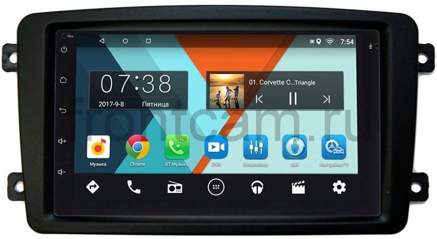 Штатная магнитола Mercedes C-klasse (W203), CLK-klasse (W209), Vito, Viano, G-klasse (W463) Wide Media MT7001-RP-MRCB-51 на Android 6.0.1