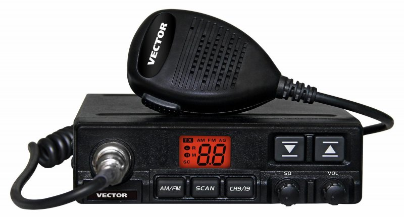 Автомобильная рация Vector VT-27 Radius си би рация albrecht ae 4200 mc