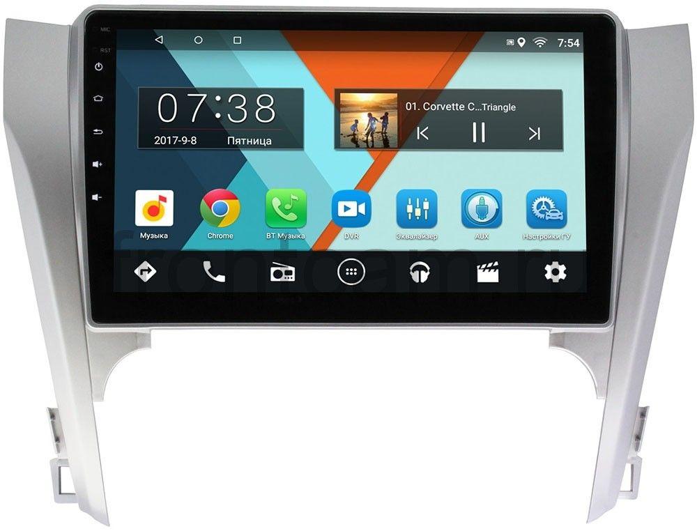 Фото - Штатная магнитола Toyota Camry V50 2011-2014 Wide Media MT1003MF-2/16 на Android 7.1.1 (для авто с камерой, JBL) (+ Камера заднего вида в подарок!) авто