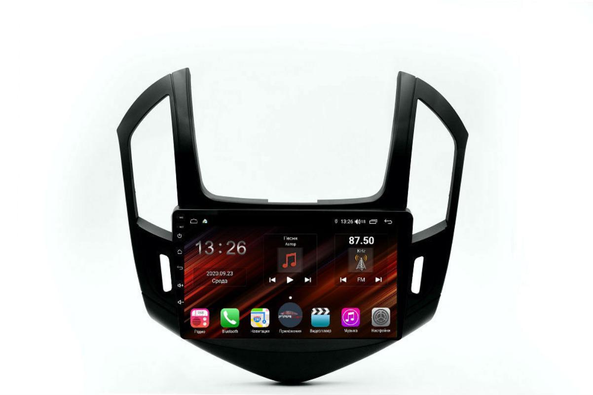 Штатная магнитола FarCar s400 Super HD для Chevrolet Cruze на Android (XH261R) (+ Камера заднего вида в подарок!)
