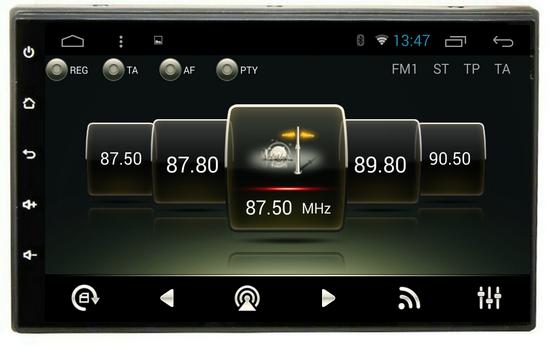 Штатная магнитола CARMEDIA U9-6502-T8 универсальная автомагнитола 2DIN на Android 7.1 msd489av u9