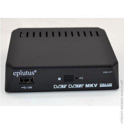 Цифровой TВ-тюнер EPLUTUS DVB-127T (+ Разветвитель в подарок!) цена и фото