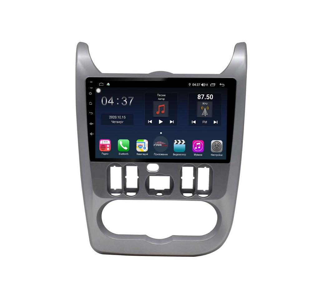 Штатная магнитола FarCar s400 для Renault Logan, Sandero на Android (TG752R) (+ Камера заднего вида в подарок!)