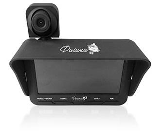 Подводная видеокамера Фишка х3 (две камеры + запись) (+ Леска в подарок)