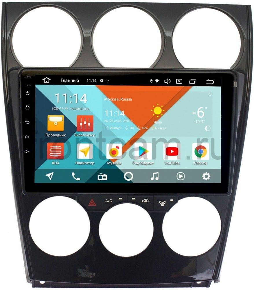 Штатная магнитола Mazda 6 (GG) 2002-2007 Wide Media KS9160QR-3/32 DSP CarPlay 4G-SIM Android 10 (+ Камера заднего вида в подарок!)
