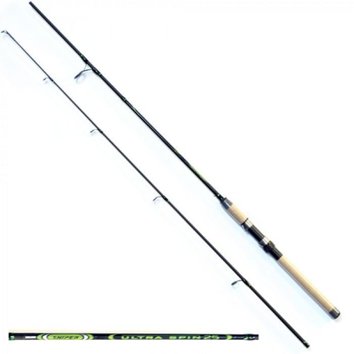 Удилище спиннинговое Salmo Sniper ULTRA SPIN 25 1.80