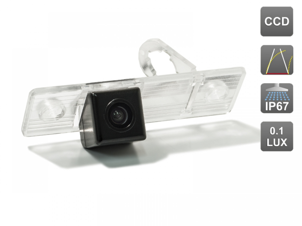 CCD штатная камера заднего вида с динамической разметкой AVIS Electronics AVS326CPR (#012) для CHEVROLET AVEO / CAPTIVA EPICA CRUZE LACETTI ORLANDO REZZO