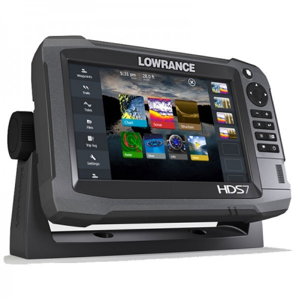 Lowrance HDS-7 Gen3 ROW with StructureScan + HST-WSBL (000-11799-002 - 7)