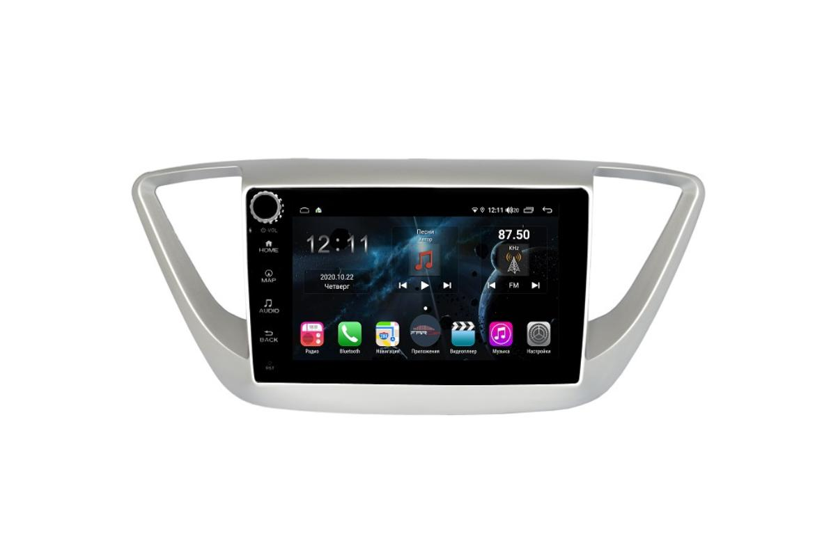 Штатная магнитола FarCar s400 для Hyundai Solaris на Android (H766RB) (+ Камера заднего вида в подарок!)