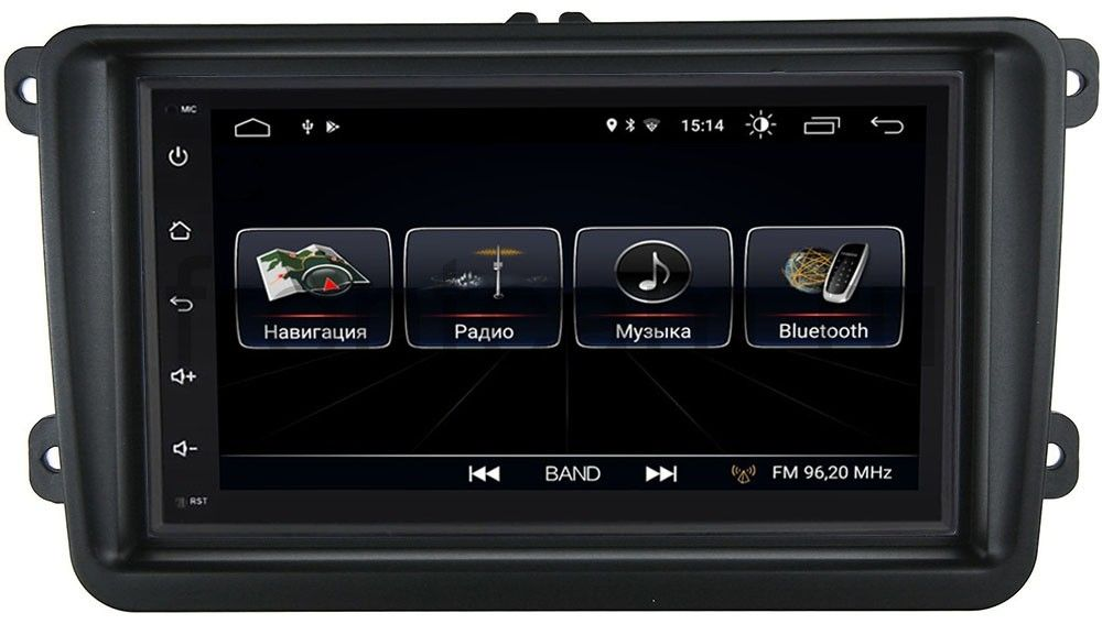 Штатная магнитола LeTrun 2380-RP-VWTRN-22 для Volkswagen Amarok, Caddy, Golf, Passat, Polo Android 8.0.1 MTK-L (+ Камера заднего вида в подарок!)
