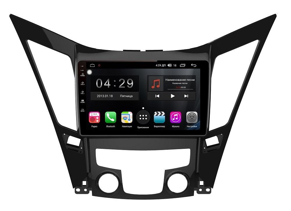 Штатная магнитола FarCar s300-SIM 4G для Hyundai Sonata 2011+ на Android (RG794R) (+ Камера заднего вида в подарок!)