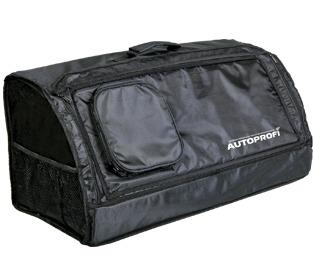 Органайзер в багажник TRAVEL ORG-30 BK ( 70х32х30см, брезент, чёрный) органайзер в багажник travel org 35 bk 70х32х30см брезент прозрачный клапан чёрный