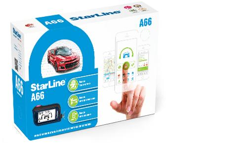 Автосинализация StarLine A66 2CAN+2LIN starline d94 2can gsm 2slave t2 0