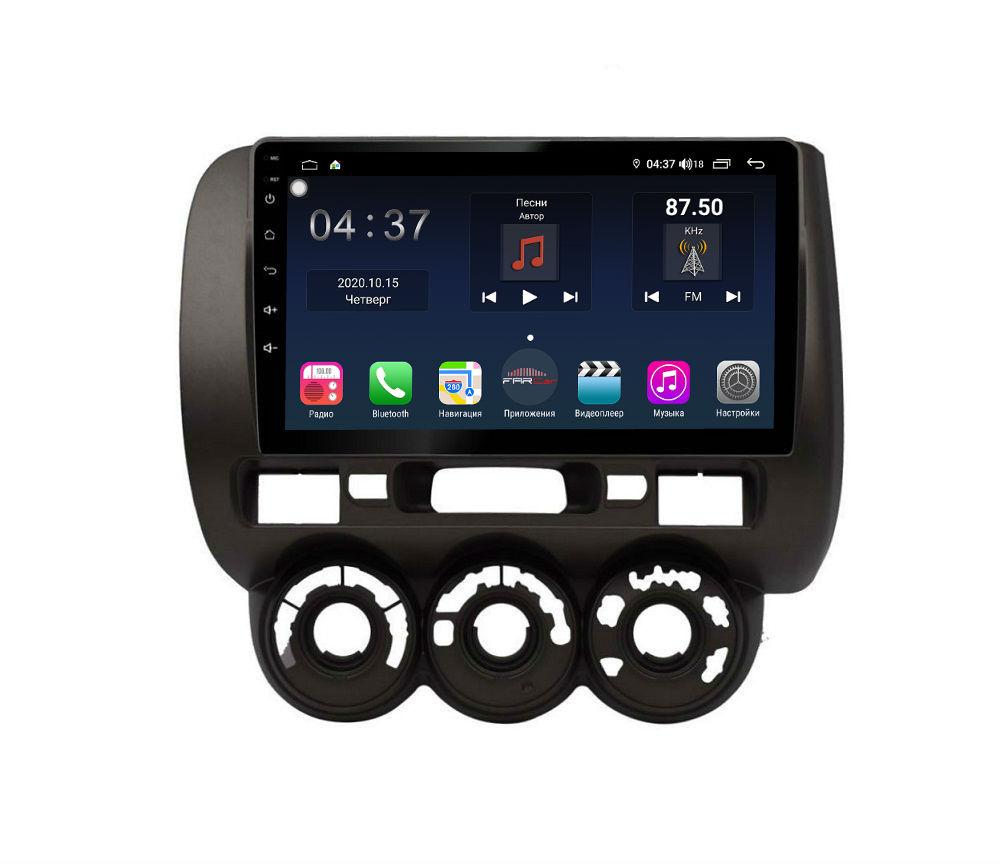 Штатная магнитола FarCar s400 для Honda Fit на Android (TG1233R) (+ Камера заднего вида в подарок!)