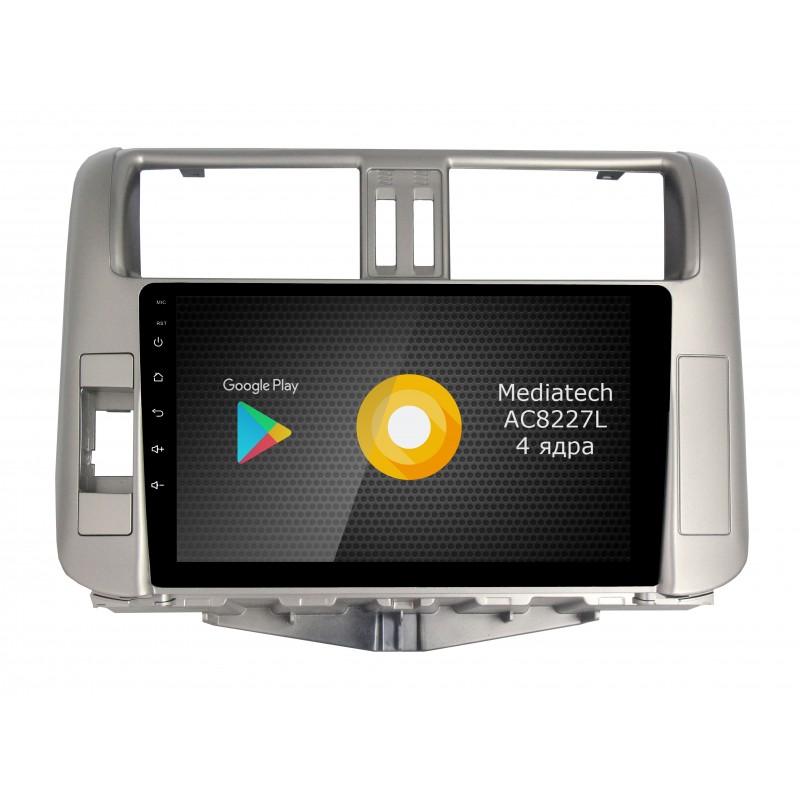 Штатная магнитола Roximo S10 RS-1114 для Toyota Land Cruiser Prado 150 2009-2014 (Android 8.1) штатная магнитола carmedia qr 1048 t3 dvd toyota land cruiser prado 150 2014 2016