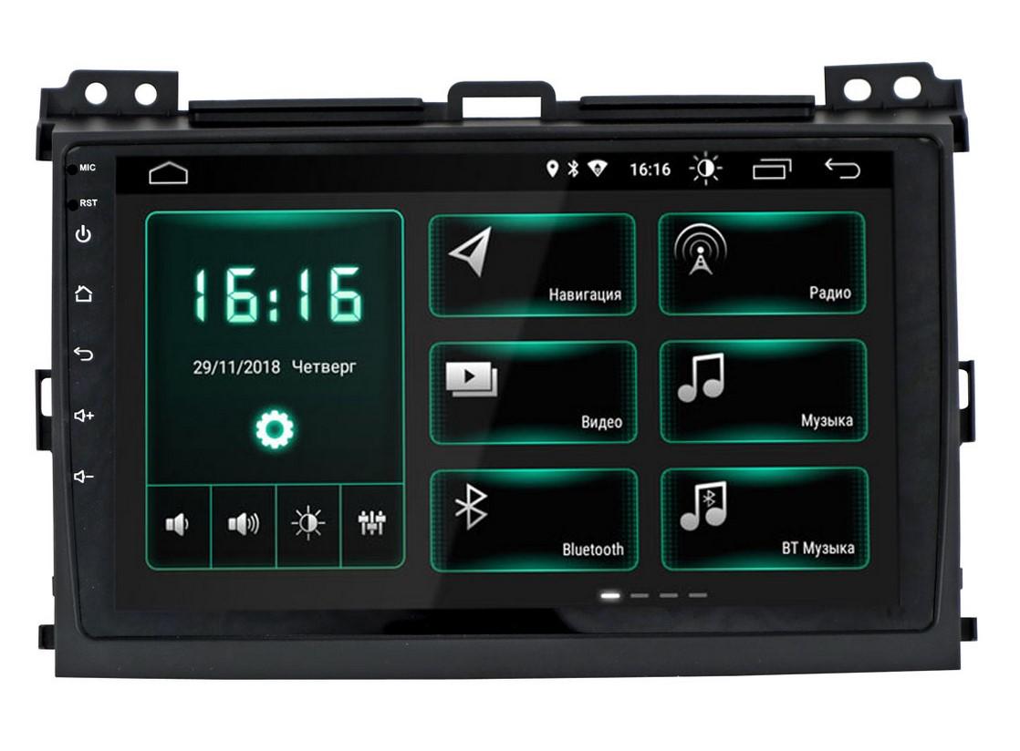 Штатная магнитола InCar XTA-2209 для Toyota LC Prado 120 (Android 8.1) цена