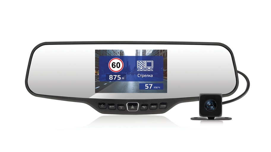 Видеорегистратор в зеркале Neoline G-Tech X27 (2 камеры) видеорегистратор neoline g tech x53